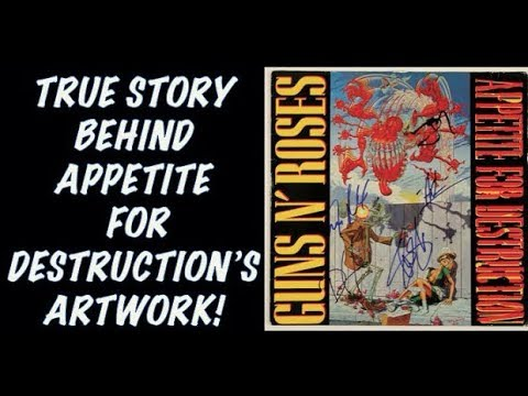 Guns N' Roses: The True Story Behind The Appetite For Destruction's Artwork Robert Williams!