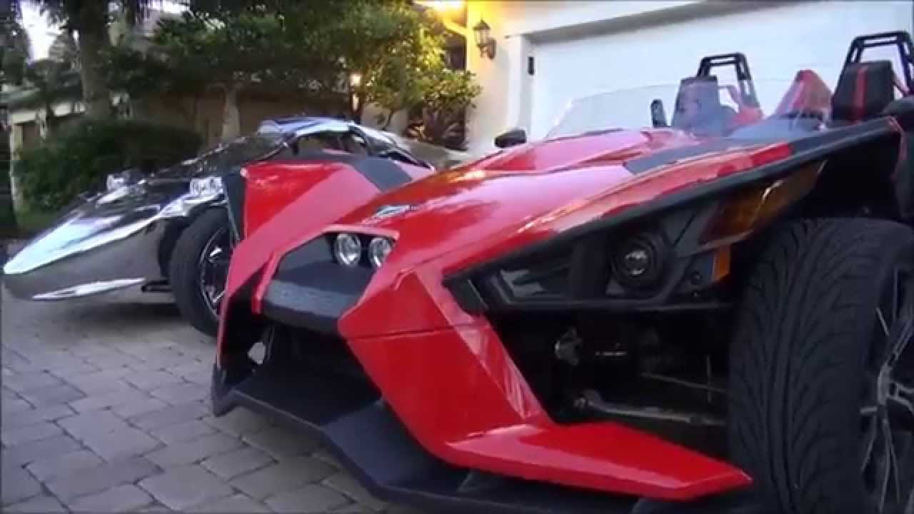 Polaris Slingshot VS. Campagna T-rex Part 1 of 3 - YouTube