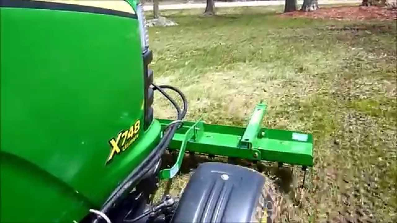 John Deere Thatcher With Hydraulic Lift Youtube