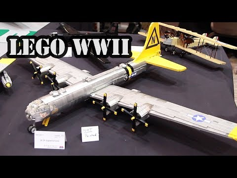LEGO B-29 Superfortress Heavy Bomber WWII Airplane
