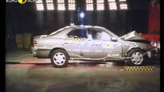 Краш тест Toyota Camry 1998 (E-NCAP)