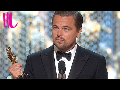 Leonardo DiCaprio Eats Girl Scout Cookie - Oscars 2016 Awkward Moments