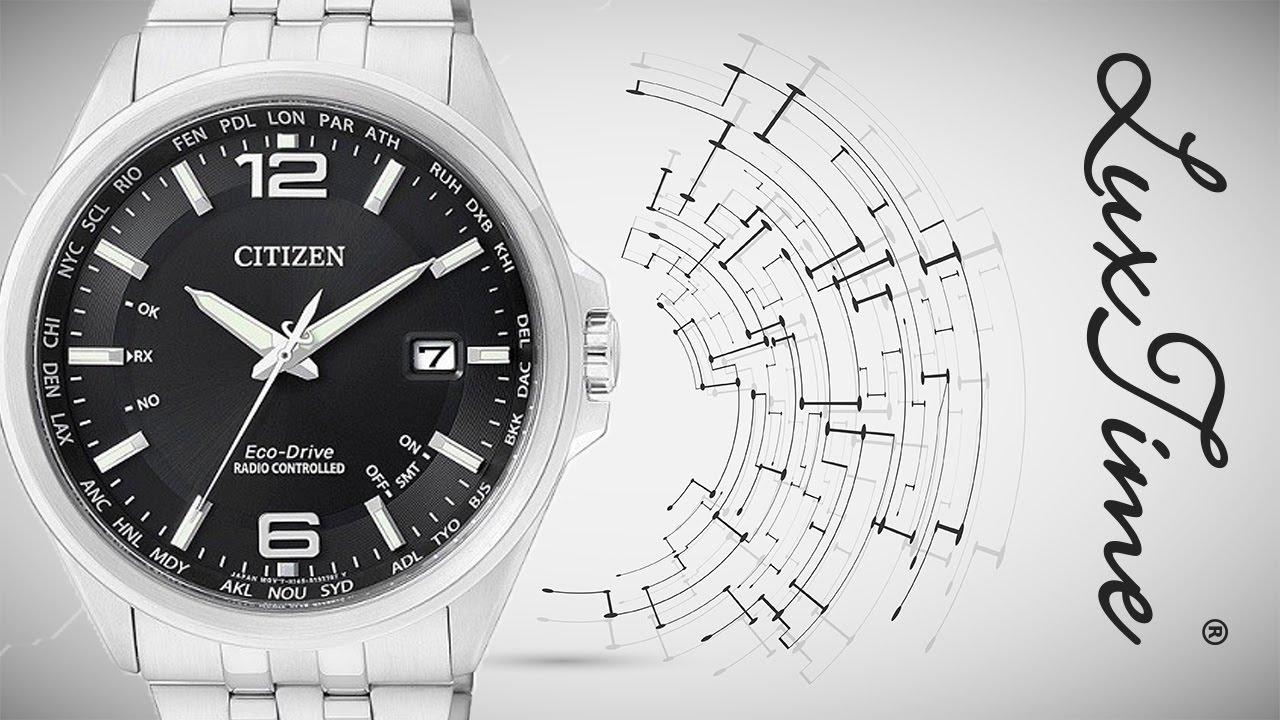 520d0cf51050d3 LuxTime.pl zegarek CITIZEN CB0010-88E - YouTube