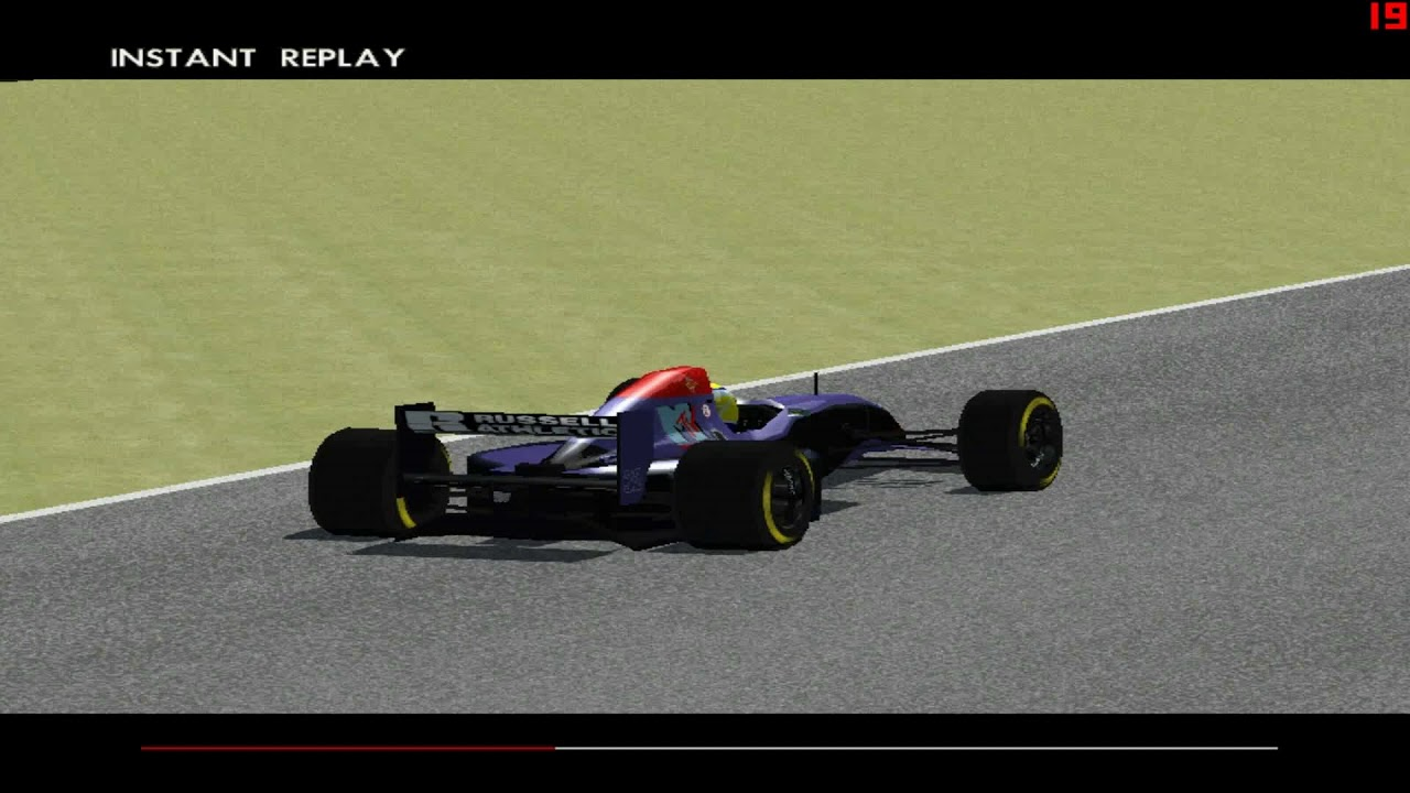 Ratzenberger Crash