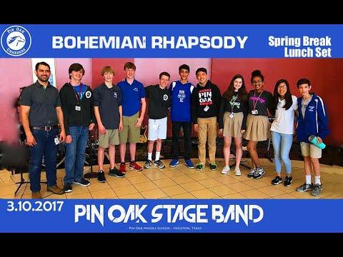 Bohemian Rhapsody (Queen cover) - Pin Oak Middle School Stage Band