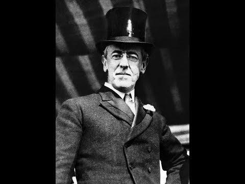 Вудро Вильсон президент сша ..Ввергший америку в Первую мировую войну