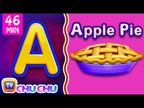 Food Alphabets ABC Phonics Song & Many More Nursery Rhymes & Kids Songs - วันที่ 27 Oct 2018