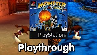 Monster Racer (PS1, PAL Exclusive) Playthrough