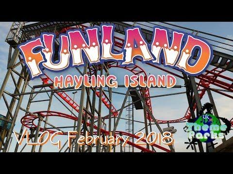 Funland Hayling Island VLOG February Half Term - UK Theme Parks 4K