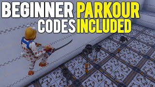 2 *BEST* BEGINNER PARKOUR DEATHRUN OBSTACLE COURSES In Fortnite Creative! (with codes)