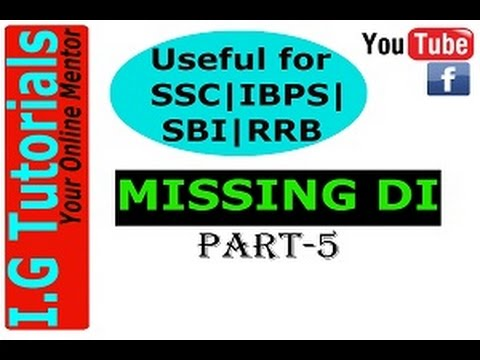 MISSING Data Interpretation Best method/Smart approach/Best trick/Short Trick - PART-5
