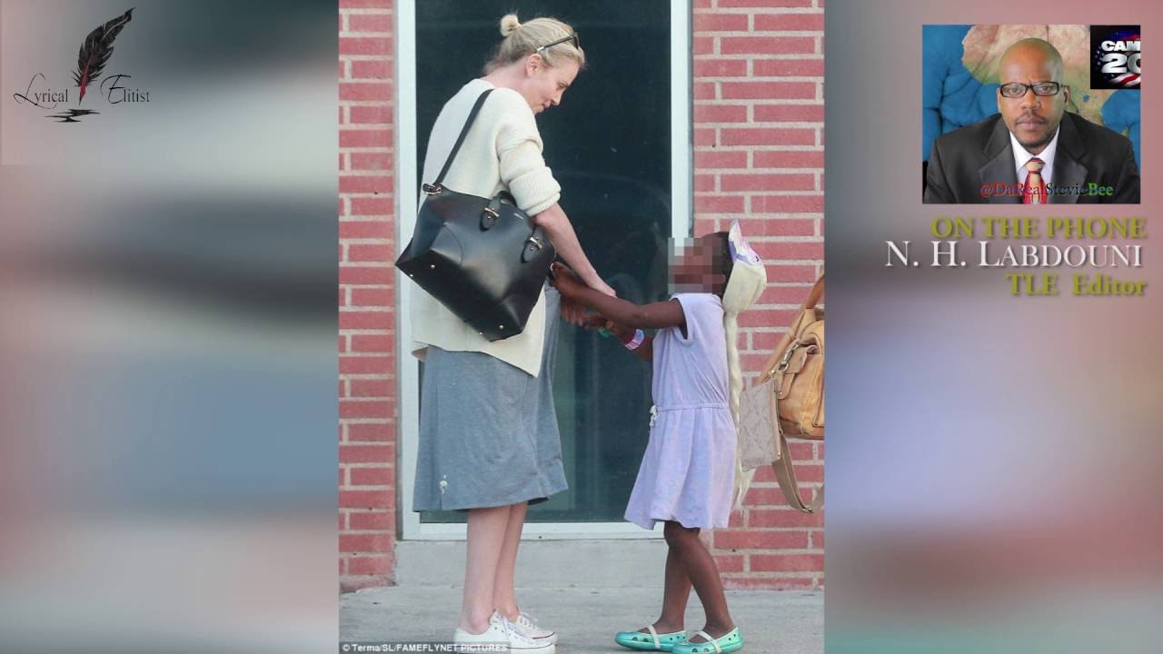 Actress Charlize Theron Her Adopted Son Jackson Youtube