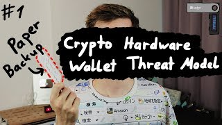 Threat Models - Hardware Wallet Research #1