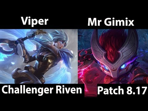 Viper  Riven vs Best Kennen  Mr Gimix  Top  Viper  Riven Gameplay