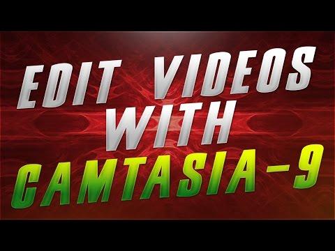 [CAMTASIA STUDIO 9] How To Edit YouTube Videos!!!