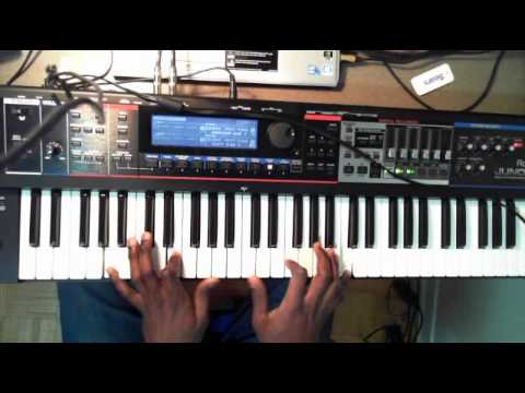 Sonnie Badu - Baba (Piano Improv)