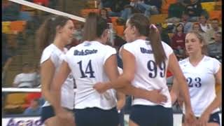 Utah State Volleyball 2006 Highlights
