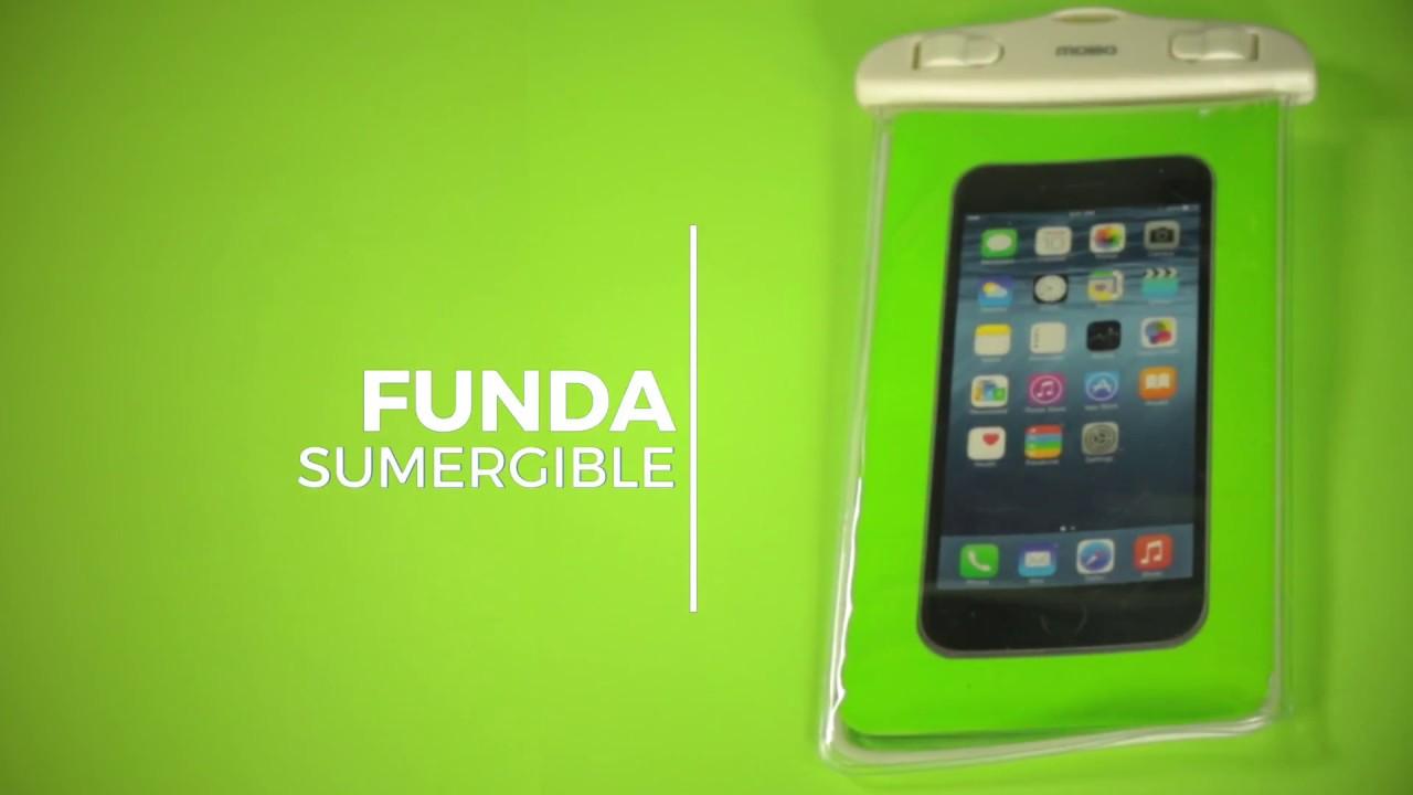 f6aea53cc6a MOBO I Funda sumergible universal - YouTube