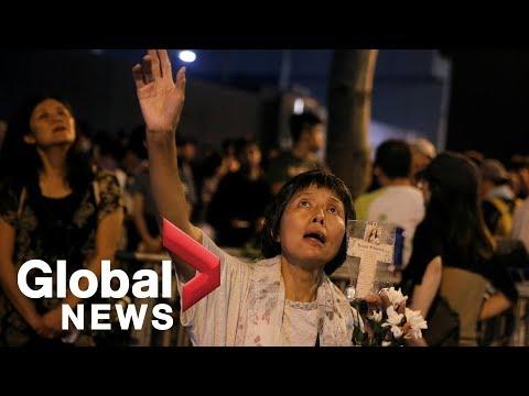 Hong Kong protests against tabling of China extradition bill