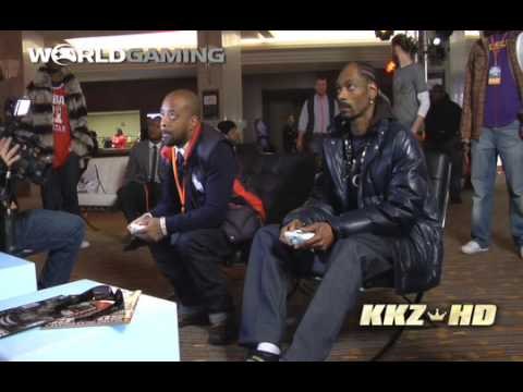 Snoop Dogg Challenges Jermaine Dupri NBA 2K10