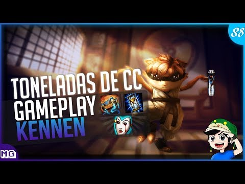 🔴 KENNEN Top Gameplay - PRESSIONE, IRRITE E ATORDOE ELES  - Iniciador Absurdo - Maki Play