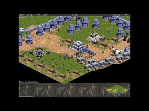 Babylon vs 7 Hardest Randoms. Random Map. Age of Empires.