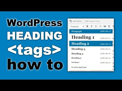 WordPress Heading Tags: How to Use Them For SEO And Readability