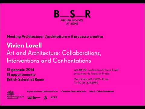 'Art and Architecture: collaboration, interventions and confrontations'