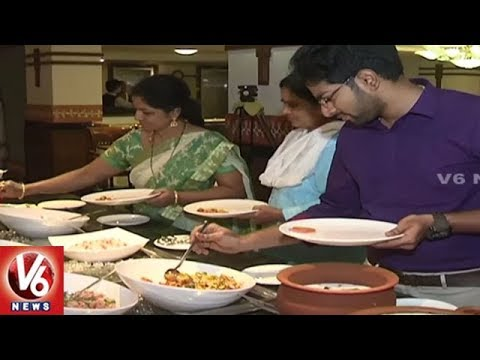 Restaurants And Hotels Attracts Food Lovers With Food Festivals | Hyderabad | V6 News