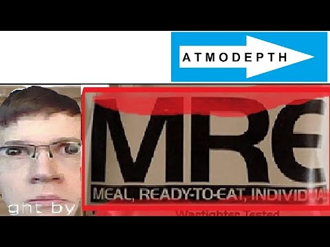 EATING AMAZON MRE Outdoors Asmr Video - MYSTORY Nr43