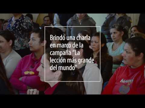 Ministra de Educación de Corrientes en el Instituto Pelletier