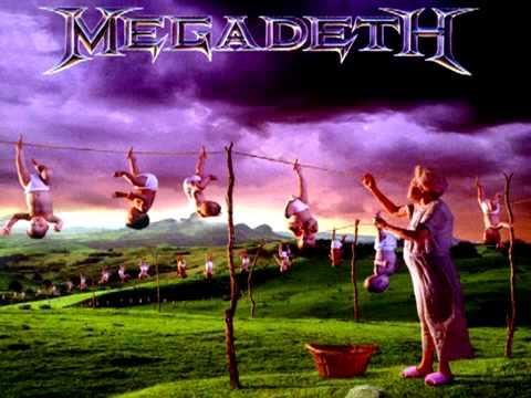 Megadeth   Train Of Consequences Standard E  Youthanasia Album