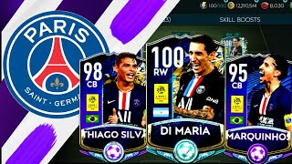 FULL PSG SPECIAL CARDS SQUAD BUILDER ! FIFA MOBILE 20