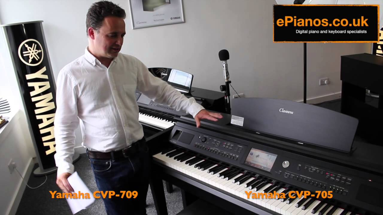 yamaha clavinova cvp 705 v cvp 709 comparison what piano. Black Bedroom Furniture Sets. Home Design Ideas