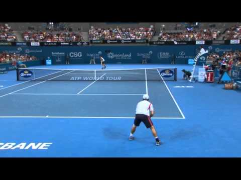 Andy Murray v Kei Nishikori - Full Match Men's Singles Semi Finals: Brisbane International 2013