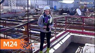 """Смотреть видео """"Строительство в деталях"""": в подземке проложили тоннель к станции """"Мичуринский проспект"""" - Москва 24 онлайн"""