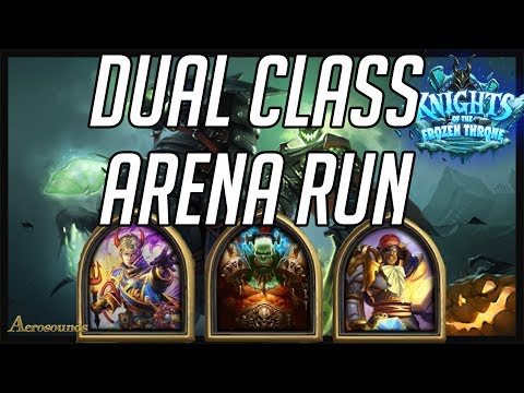 Hearthstone Dual Class Arena Run - Happy Hallow's End Party! Gameplay and Tips! KFT 2017