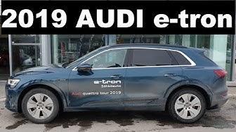 KOEAJOSSA: Audi e-tron - Audin ensimmäinen sähköauto