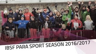 IBSF Para Sport season has come to an end | IBSF Para Sport Official