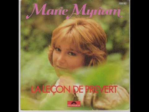 Marie Myriam -  La plus belle pour aller danser