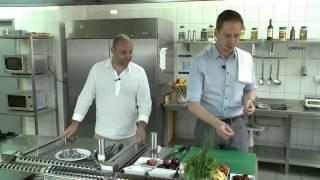 Pappardelle z szynką szwarcwaldzką, suszonymi pomidorami i serkiem mascarpone.