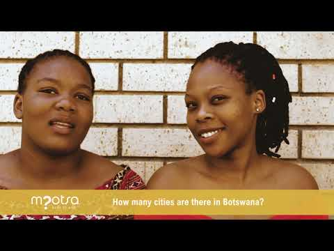 Mpotsa Local - How many cities are there in Botswana?