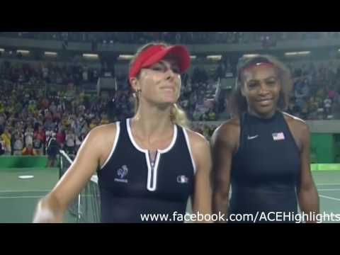 Serena Williams vs Alize Cornet 2016 Rio Summer Olympic Highlights Round 2 HD720p50 by ACE