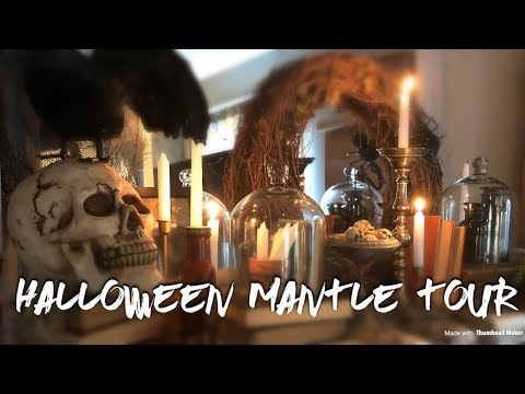 Halloween Mantle Tour 2018