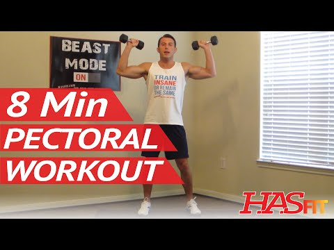 8 Minute Killer Chest Workout at Home Chest Exercises Routine Pectoral Workout Chest Work Out