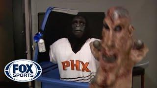 Gerald Green Slaps Suns Gorilla Mascot After Prank