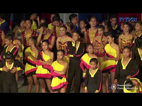 Opening Ceremonies of the Philippine National Games (PNG) 2018 (Speech) 5/19/2018
