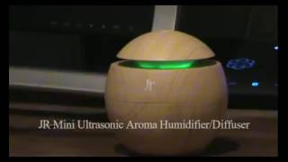 Mini Ultrasonic Aroma USB Humidifier Diffuser Review -JR