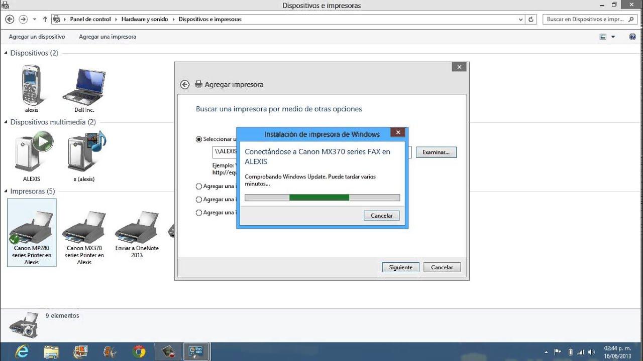 Impresora En Red En Windows 8 Paso A Paso Youtube