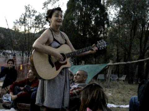 Jane Siberry live at Veranda - Calling all angels